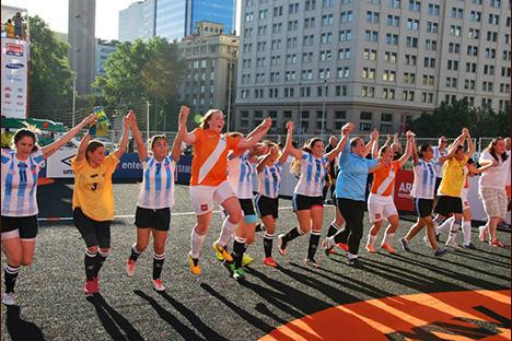 Perfecte start Oranje op Homeless World Cup in Chili