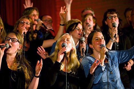 Gospelkoor Higher Level geeft concert in Stadsgehoorzaal Kampen