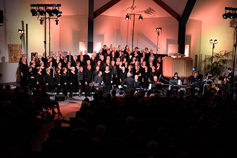 The Choir Company voert de The Young Messiah uit in Apeldoorn