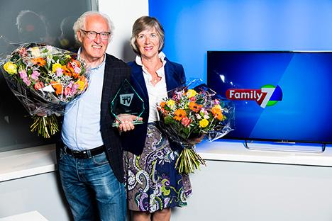 Family7 beste digitale tv-zender van Nederland