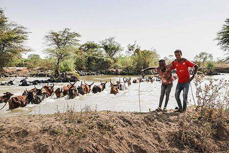 Ambitieus waterproject is teken van hoop in arm Ethiopie