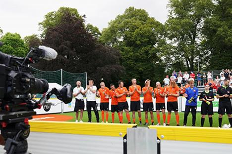 Homeless World Cup van start
