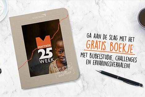 World Vision lanceert Matteus 25 week